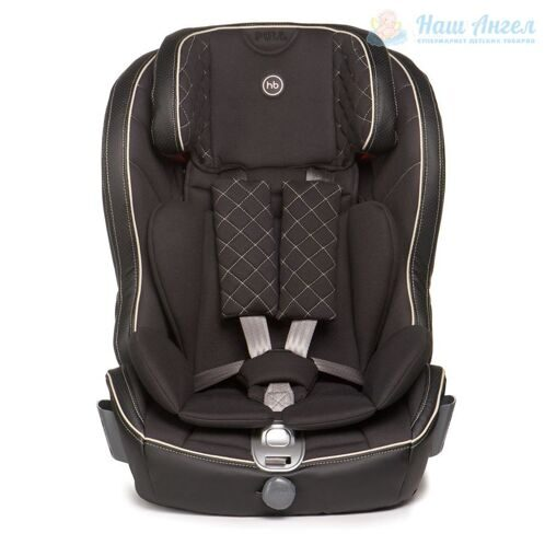 "Автокресло Happy Baby ""Mustang Isofix"" (BLACK)"